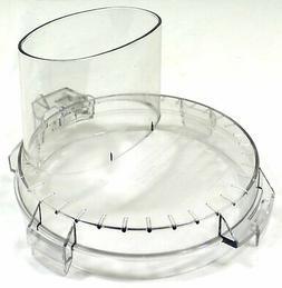 food processor work bowl cover for tritan