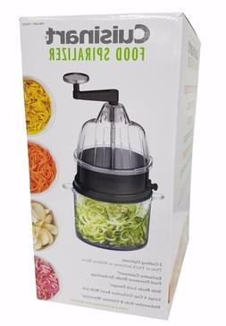 Cuisinart Food Spiralizer 3 Cutting Options BPA Free Safe Bl