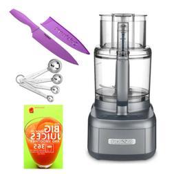 Cuisinart FP-11GM Elemental 11 Cup Food Processor  & Cookboo