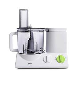 Braun FP3020 12 Cup Food Processor Ultra Quiet Powerful, in