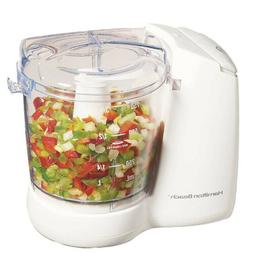 Hamilton Beach FreshChop 72600 Food Chopper - 3 Cup  - White
