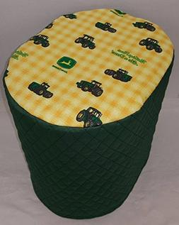 Green & Yellow Tractor Food Processor Cover