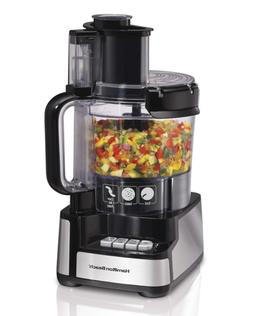 Hamilton Beach 12-Cup Stack and Snap Food Processor