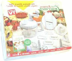Express Gourmet Hand Food Processor Mixer Blender Slicer wit