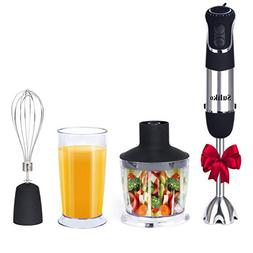 Hand Blender, Suliko 850W Powerful 4-in-1 Smart Stick Multif