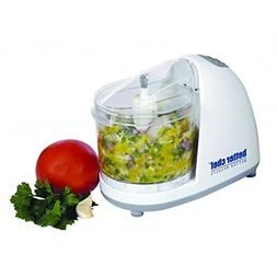 Better Chef IM-845W Compact Food Processor White W/Stainless