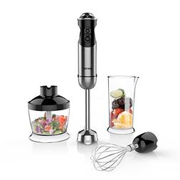 BESTEK Imersion Blender 350W 5 Speed 4-in-1 Hand Blender Sma