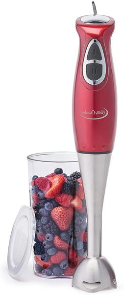 Immersion Blender 2 Speed Food Processor  Mixing Beaker and