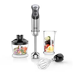 BESTEK 350W 2 Speed 4-in-1 Smart Stick Hand Mixer Blender Se