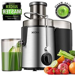 Aicok Juice Extractor Bpa Free Premium Food Grade Stainless