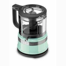 - KitchenAid KFC3516IC 3.5 Cup Mini Food Processor, Ice