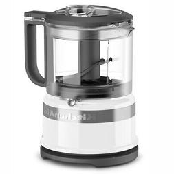 KitchenAid KFC3516WH 3.5 Cup Mini Food Processor Guaranteed