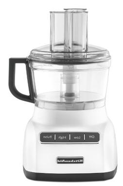 KitchenAid KFP0711WH 7 Cup Food Processor - White