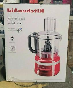 KitchenAid KFP0718ER 7-Cup Food Processor - Empire Red