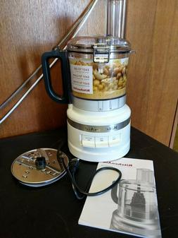 KitchenAid KFP0718WH 7-Cup Food Processor Chop, Puree, Shred