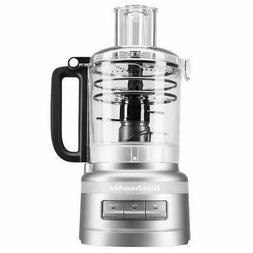 KitchenAid KFP0919CU 9 Cup Plus Food Processor, Contour Silv