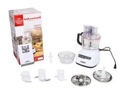 KitchenAid KFP0922WH 9-Cup Food Processor with Exact Slice S
