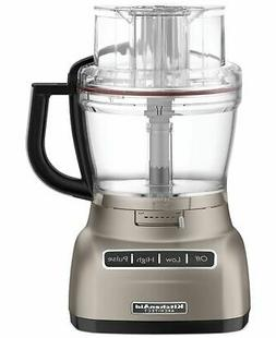 KitchenAid KFP1133ACS 11-Cup Food Processor Exact Slice Dici