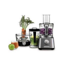 kitchen central with blender juicer and food