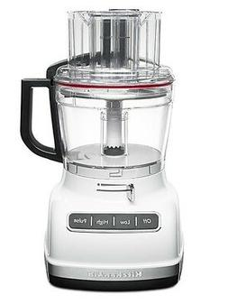 KitchenAid KFP1133WH 11-Cup Food Processor Exact Slice Syste