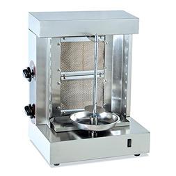 KW-25A LPG Chicken Shawarma making machine stand doner kebab