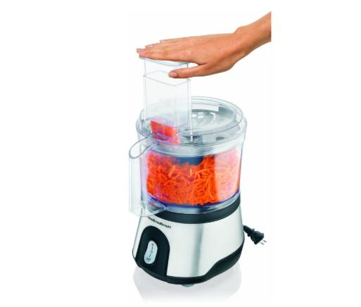 10-Cup Food Processor Vegetable Chopper with Compact Storage