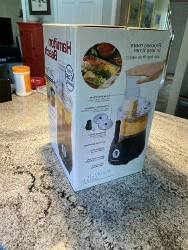Hamilton Food Processor Chef Prep 525-Watt NEW Shipping!