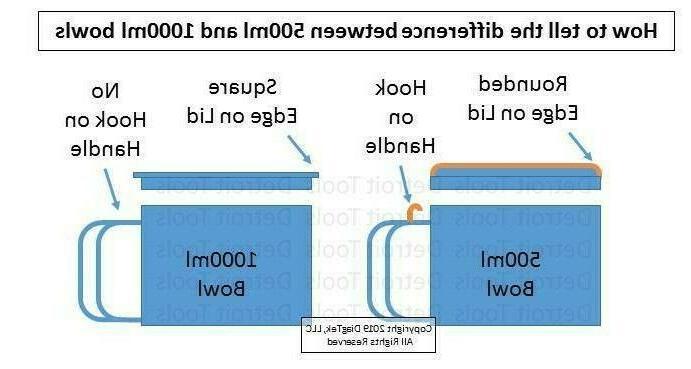 1000ml Disc Braun Food Processor models 4243, 4258,