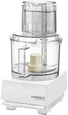 CUISINART 11-Cup Food 2-Speed BPA White