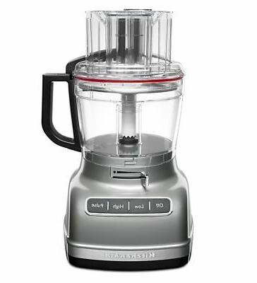 11 cup food processor with exactslice system