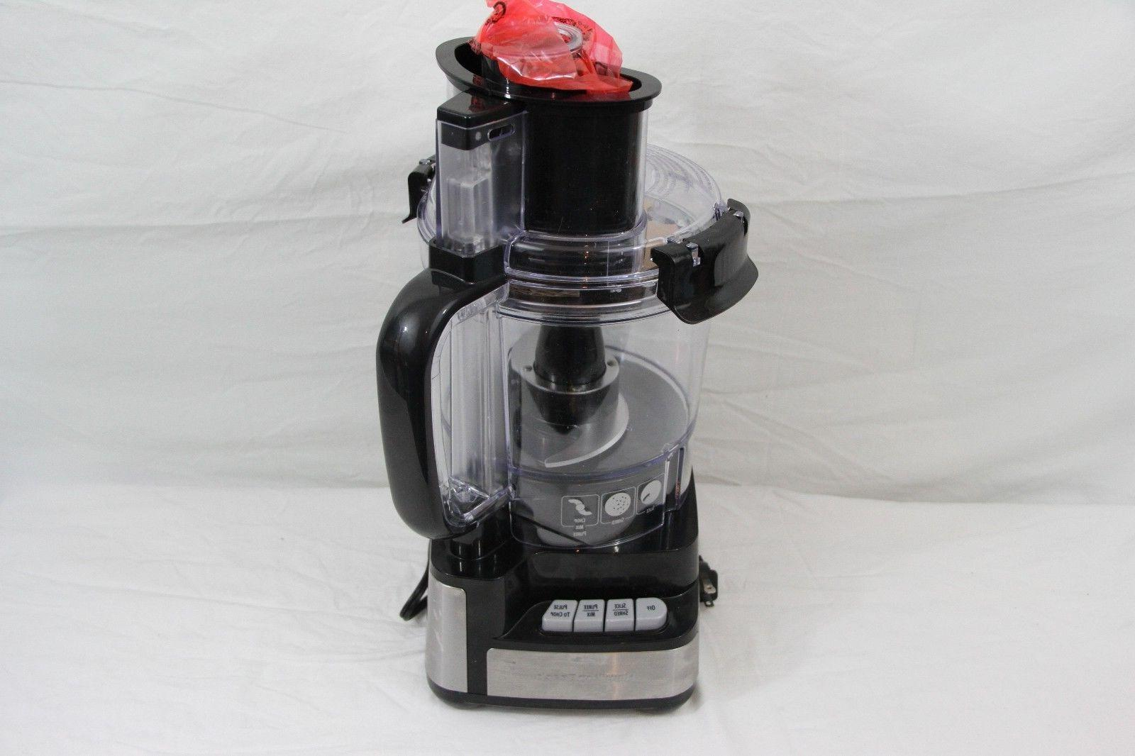 12 cup stack and snap food processor