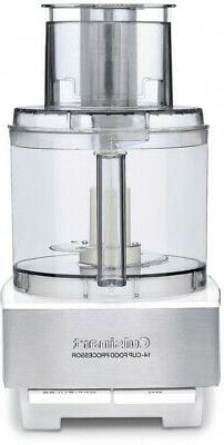 CUISINART 14-Cup Food Processor BPA Free w/ Locking Lid, Sta