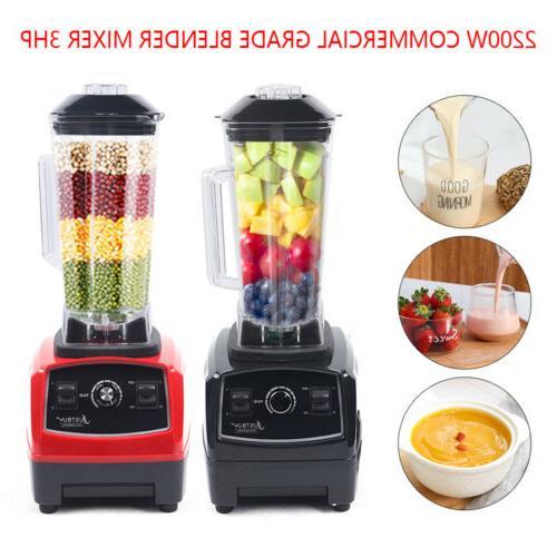 3HP 2200W Heavy Duty Commercial Blender Mixer 2L Power Juice