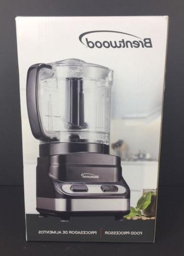 Brentwood Cup Processor In 200 Black