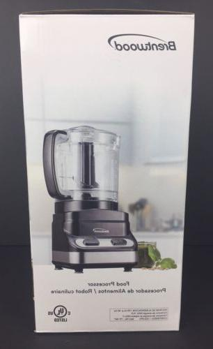 Brentwood 3 Cup Processor In 200 Motor -