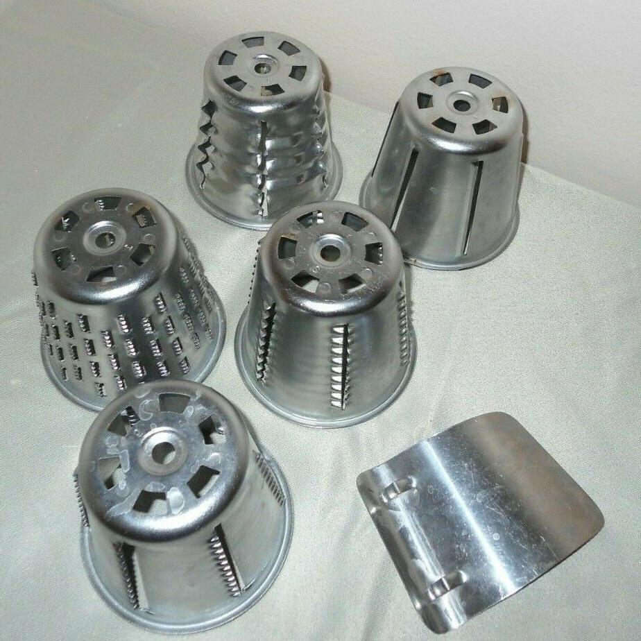 5 Food Processor Blades Cones FINGER Replacement