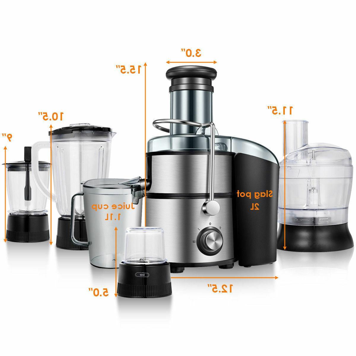 5in1 Juice Extractor Juicer Food Processor