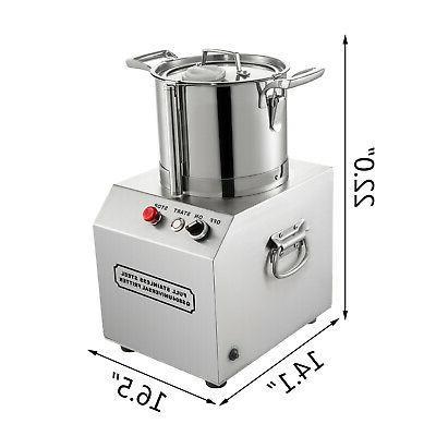 6L Commercial Grade Food Processor Blender Meat