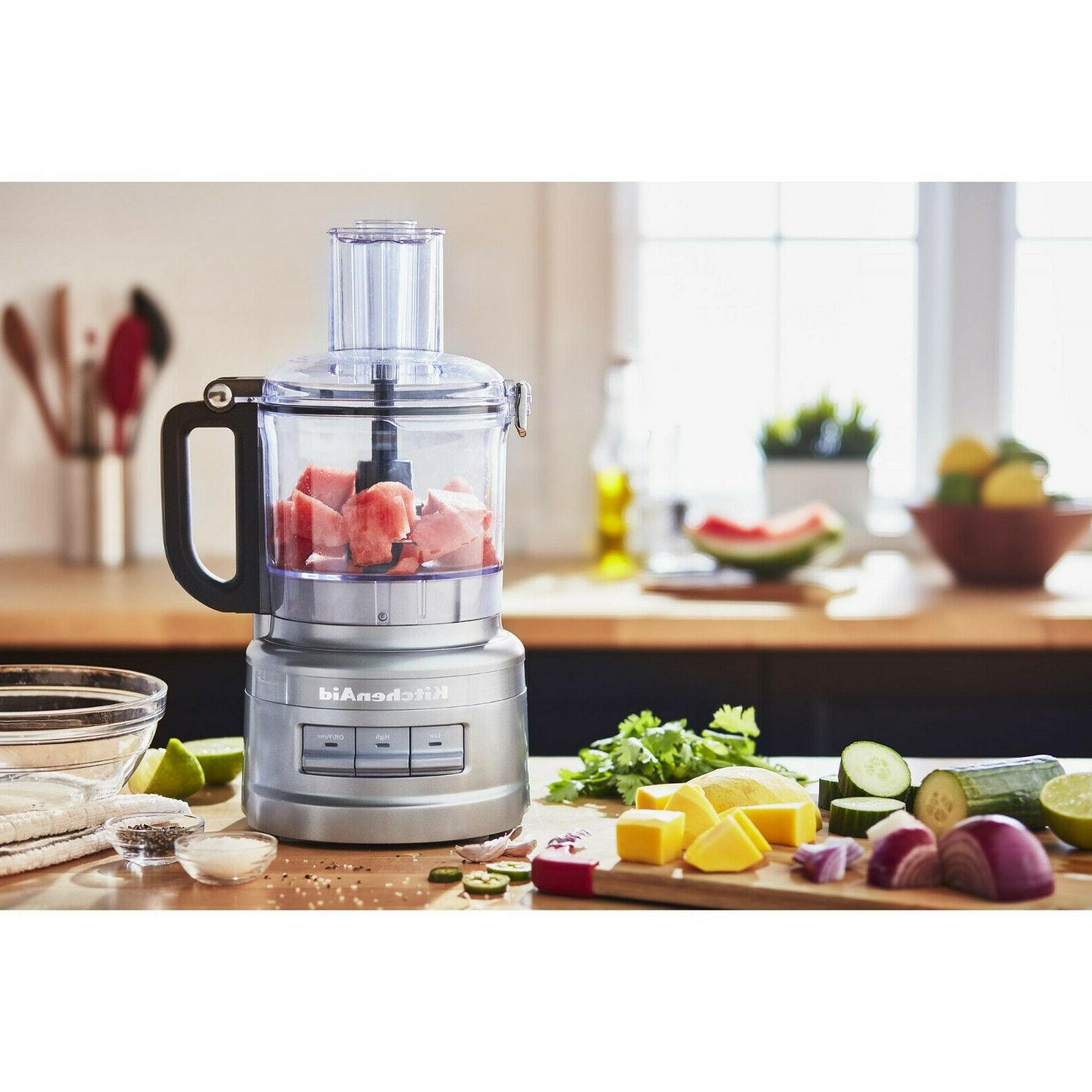 KitchenAid 7 Contour Silver