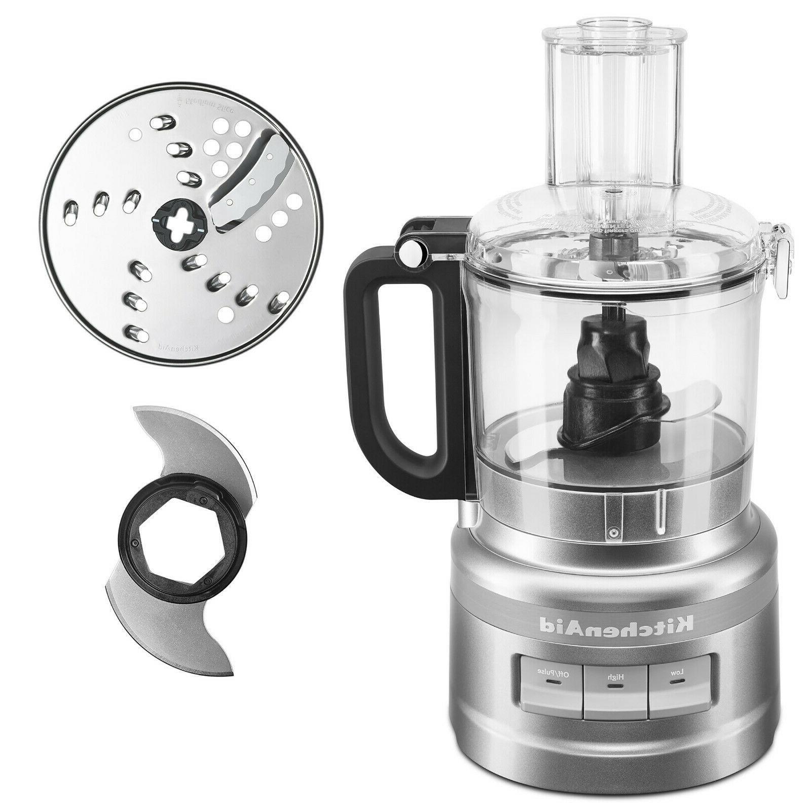 7 cup contour silver food processor