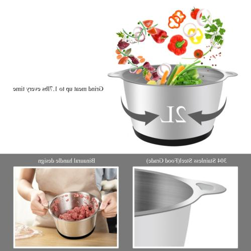 ROVSUN 8 Food Small 2L Stainless Bowl,