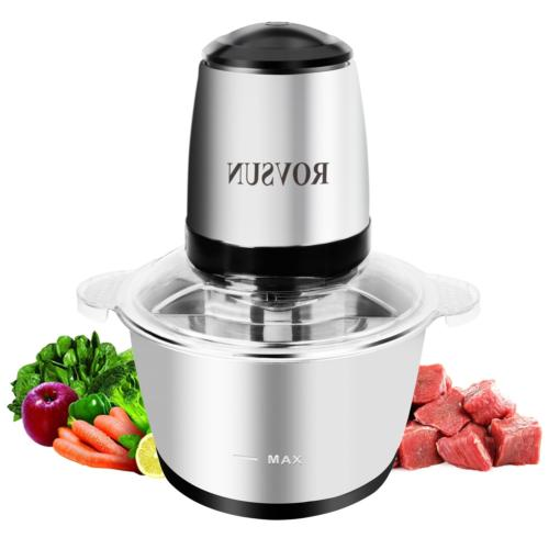 8 cup electric food processor small chopper