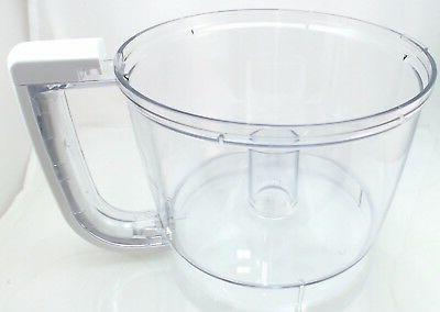 8211906 food processor white work bowl