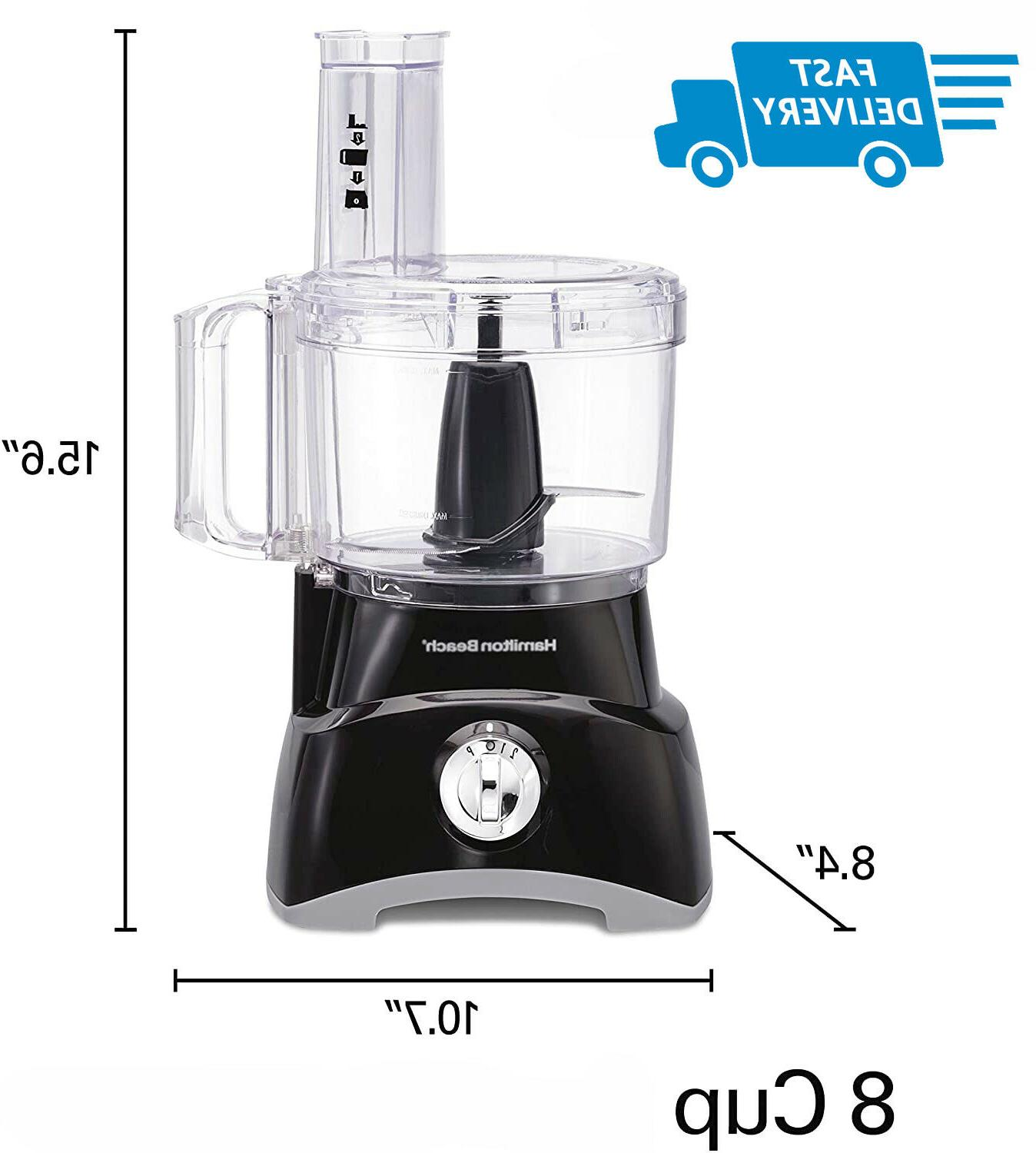 8cup compact food processor and vegetable chopper