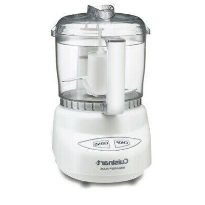 Cuisinart CGC-4WPC Mini-Prep Plus 4-Cup Food Processor, Whit
