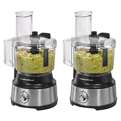 Hamilton Beach 10-Cup Food Processor, with Bowl Scraper  2 p