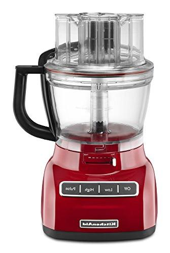 Kitchenaid Kfp1333er 13 Cup Food Processor With Exactslice