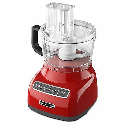 Kitchenaid - 7-cup Food Processor - Empire Red
