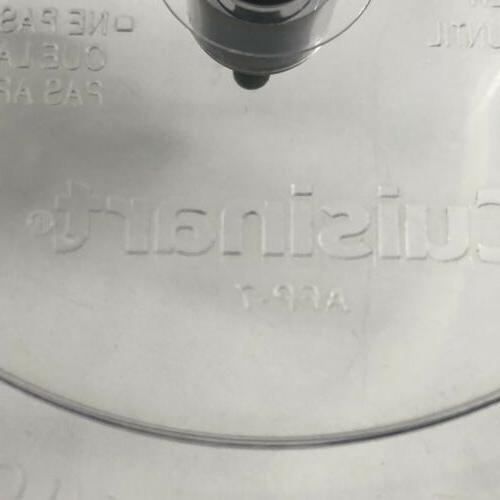 Cuisinart AFP-7 SmartPower Food Processor Lid Pusher Replacement