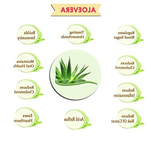 100% Organic Powder USDA mi - OZ / / Aloe     Non